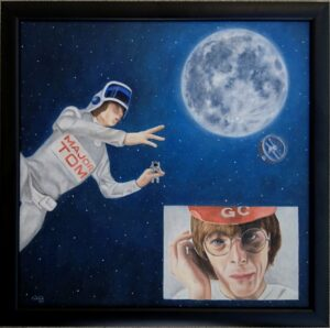 David Bowie, space oddity art