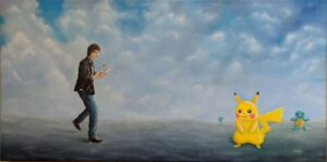 Art about Pokemon go