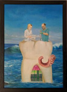 the dentist art